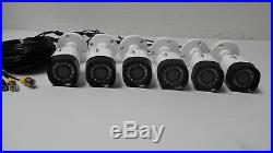 LOT OF 6 LOREX LBV2521-C 1080p HD Bullet Security Camera Night Vision