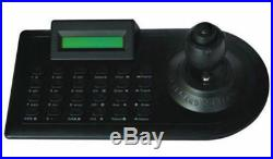 Mini AHD 1080P Analog CCTV Security Speed PTZ Camera Outdoor + Keyboard Control