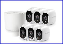 NEW Arlo VMS3630B-100NAS Wireless Home Security System with 6 Cameras included