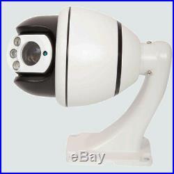 SONY CMOS 1200TVL HD Color 30X Zoom PTZ Dome IR Home CCTV Security Camera IR-CUT