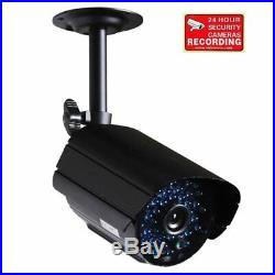 Security Camera Day Night Vision Infrared 36 IR LEDs Outdoor CCTV 6.0mm Lens c1y