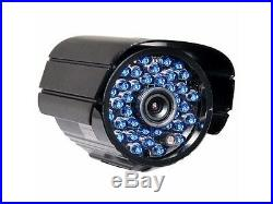 Security Camera Outdoor 36 IR LEDs Infrared Night Vision CCTV 6.0mm Len Home C1Y