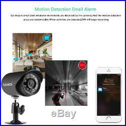 Smart Home CCTV Security System 4CH 1080N AHD DVR+4XOutdoor 1500TVL 720P Cameras