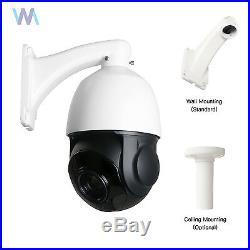 Sony CCD 30X Zoom 1200TVL Outdoor PTZ Speed Dome Camera CCTV Security