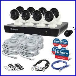 Swann 16Ch Cam Security System/DVR 2TB HDD 8x 5MP Super HD Bullet CCTV Cameras