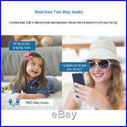 Techage 8CH 5MP H. 265 POE AI IP Camera 2-Way Audio Home Security CCTV NVR System