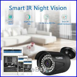 US 8CH 1080P AHD DVR CCTV 3000TVL Camera Home Security System Surveillance Kit
