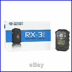 V2 Body Worn Camera DVR CCTV Security Sia Doorman Nightclub Bar Pub Guard RX3 HD