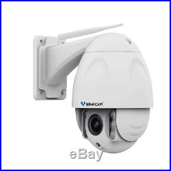 VStarcam C34S-X4 Wireless PTZ Dome IP Camera Outdoor 1080P FHD 4X Zoom CCTV Cam