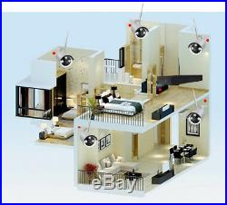 Wireless 8CH 1080P NVR IR-cut 720P IP Outdoor Home Security Camera System CCTV