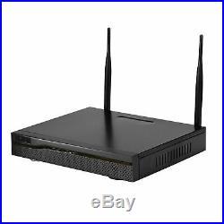Wireless CCTV 4CH 1080P NVR HD Camera IP66 Waterproof Security WIFI System Kit