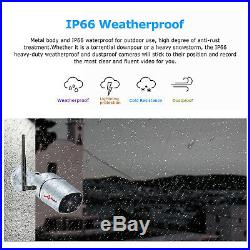 Wireless WIFI Home Security Camera System 1080P Outdoor with 1TB HDD NVR HD CCTV