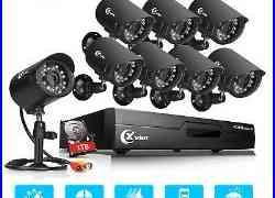 XVIM 1080P HDMI 8CH / 4CH DVR indoor/outdoor CCTV Security Camera System 1TB US