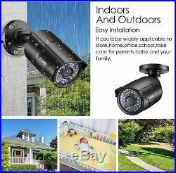 ZOSI 16CH Channel 1080p HDMI Surveillance CCTV DVR Security Camera System 2TB