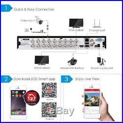 ZOSI 16ch 16 Channel DVR Hybrid HD 1080N HDMI for CCTV