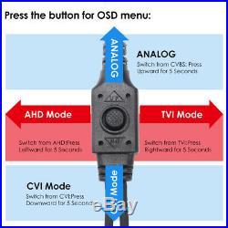 ZOSI 4IN1 1080P HDMI IR Night Vision Outdoor Home Camera SETSystem Security CCTV