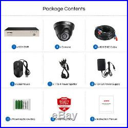 ZOSI HD 8CH H. 265+ HDMI DVR 1080P IR Outdoor CCTV Home Security Camera System