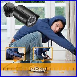 ZOSI HDMI 8CH 1080P CCTV Security Outdoor Camera DVR Night Vision System 0-1TB