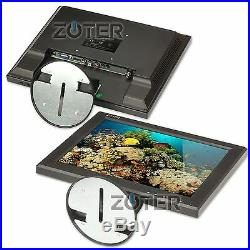 ZOTER 12 Inch LCD Color Monitor Screen HDMI BNC VGA AV for CCTV Security Camera